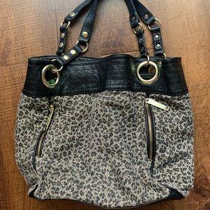 Steve Madden leopard print bag